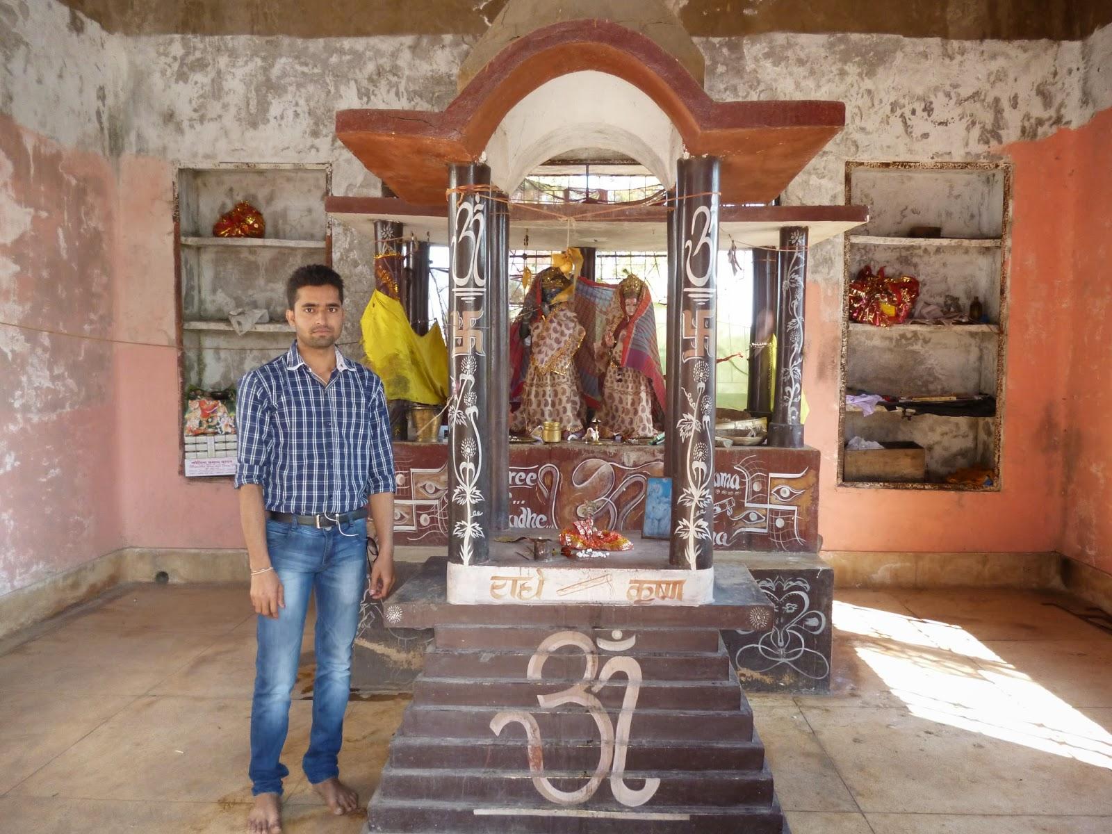 Amazing Spot In Mccluskieganj-Duli Village, Radha-Krishna Temple