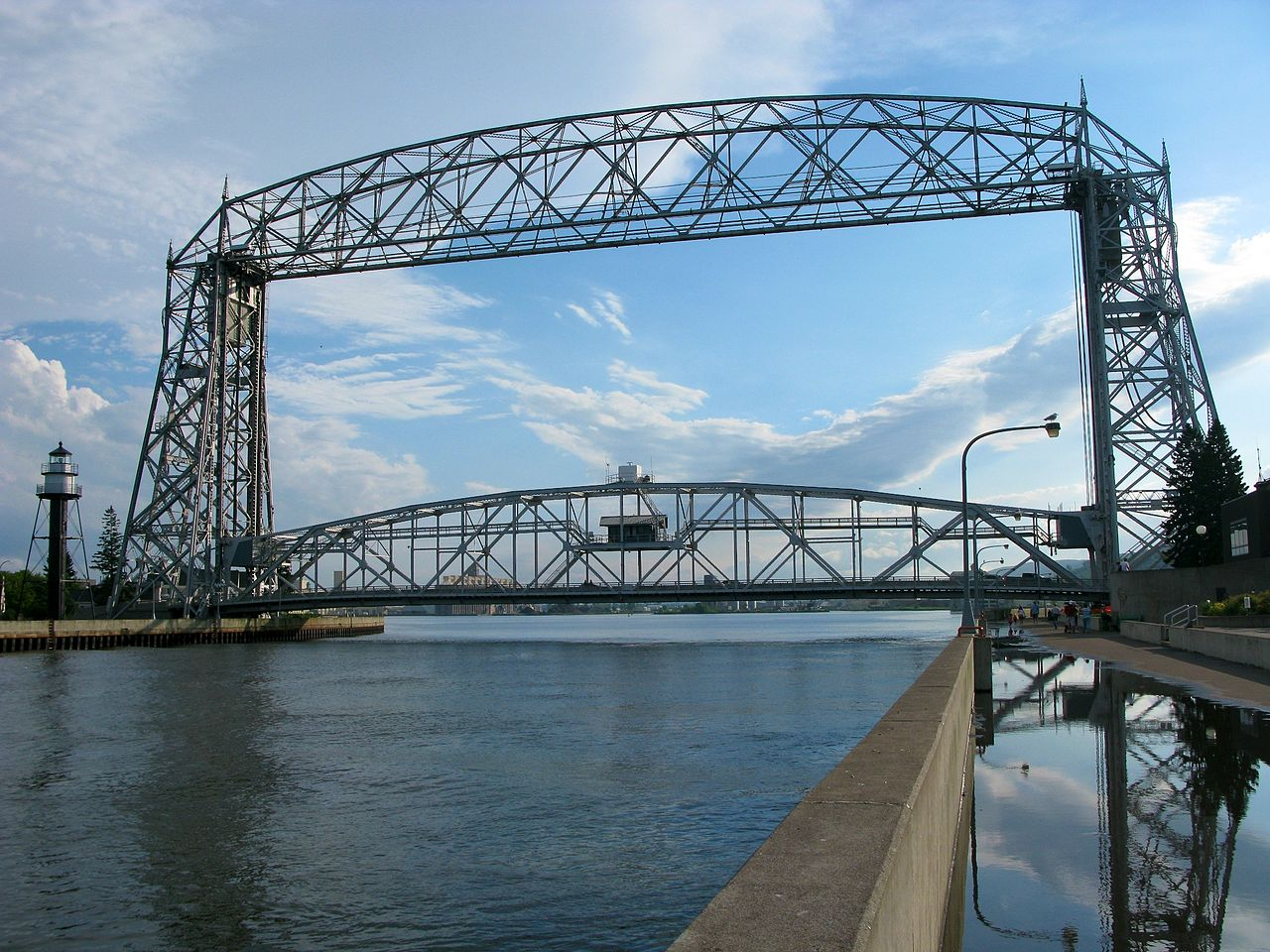 Top Tour Place In Minnesota-Duluth Aerial Lift Bridge