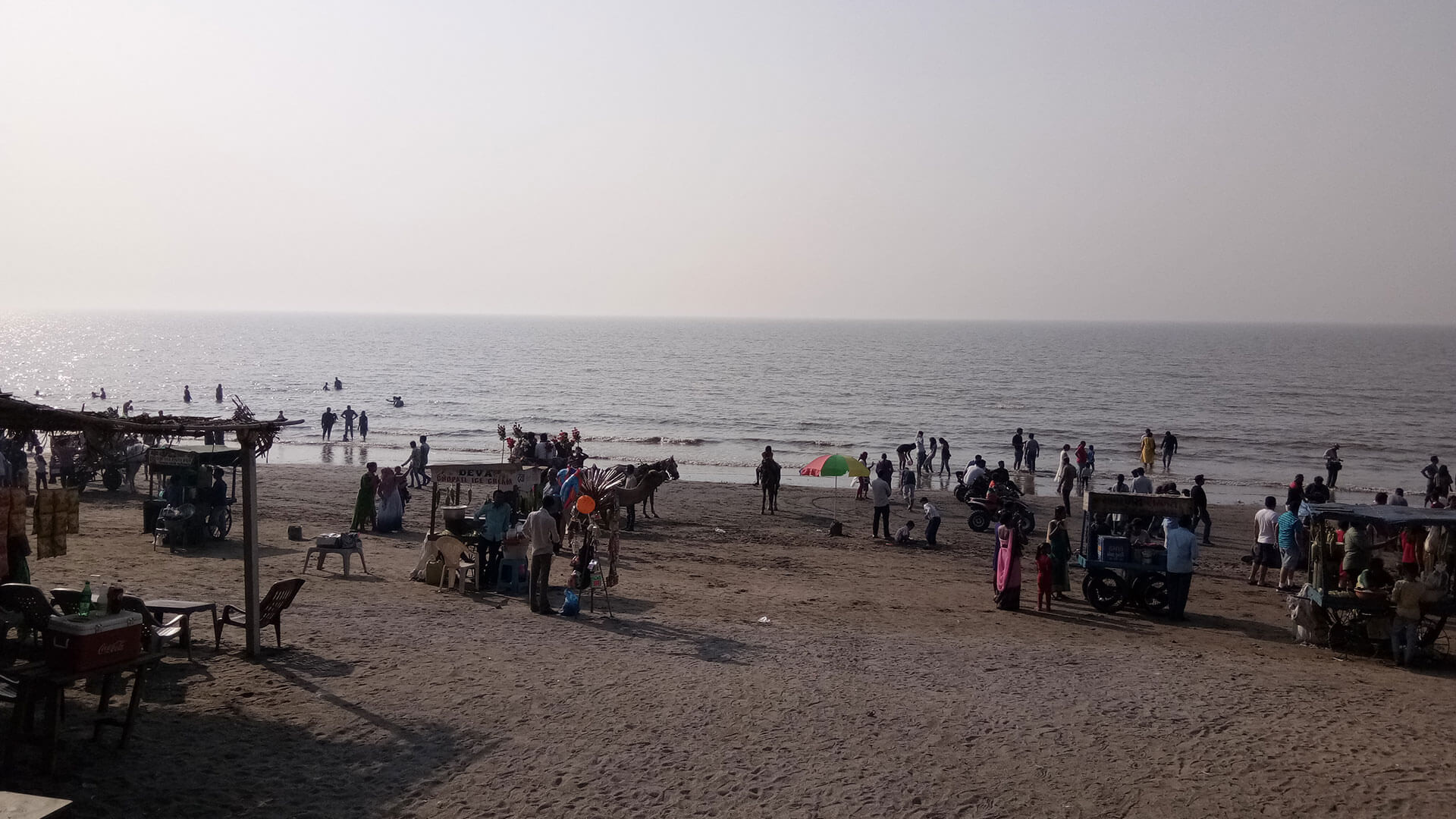 Visit Dumas Beach: The Black Sand Beach Near Surat, Gujarat