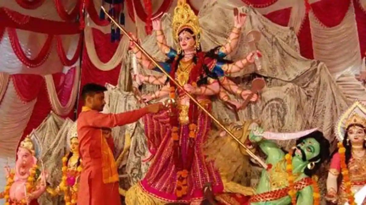 Biggest Festival Celebrated  In Uttar Pradesh-Durgotsav
