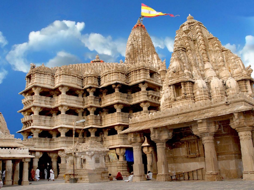 Dwarkadhish Temple in Jamnagar