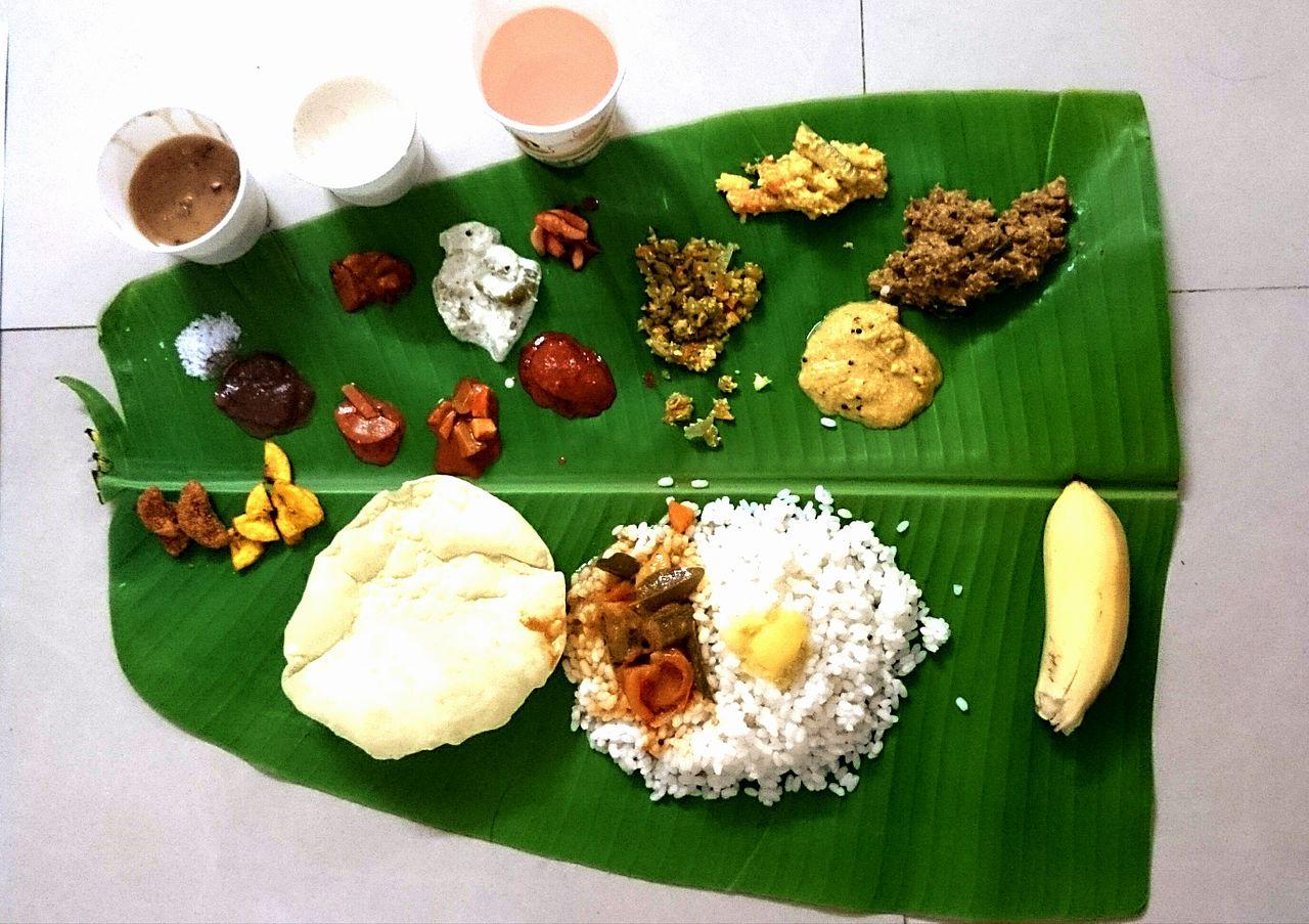 Ela Sadhya or Sadya - Kerala Cuisine
