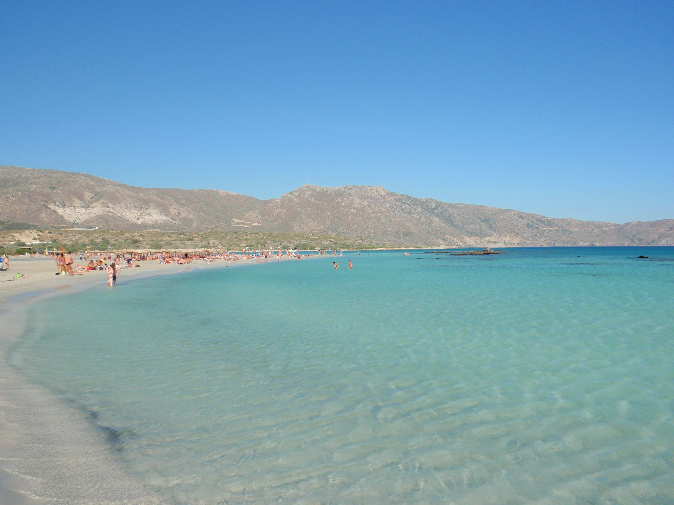 Amazing Place To Visit in Crete Islands-Elafonisi Beach