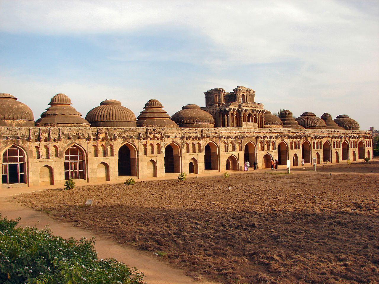 Attraction Place To Visit In Hampi-Elephant Stables