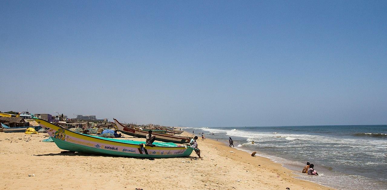 Elliot's Beach in Chennai