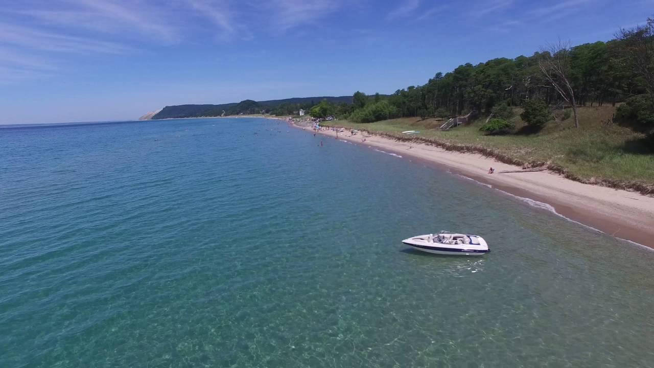 Beautiful Beach of Michigan-Empire Beach