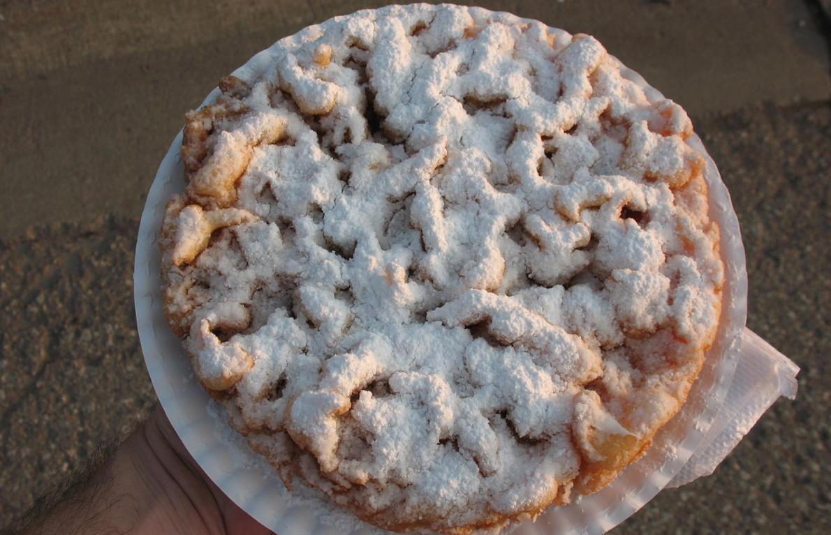 Atlantic City-Enjoy a Funnel Cake From Vanina's
