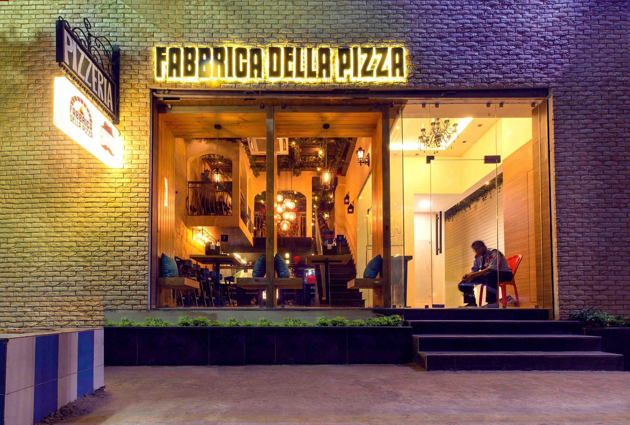 Fabbrica Della Pizza - Restaurants In Kolkata That Every Tourists Must Visit