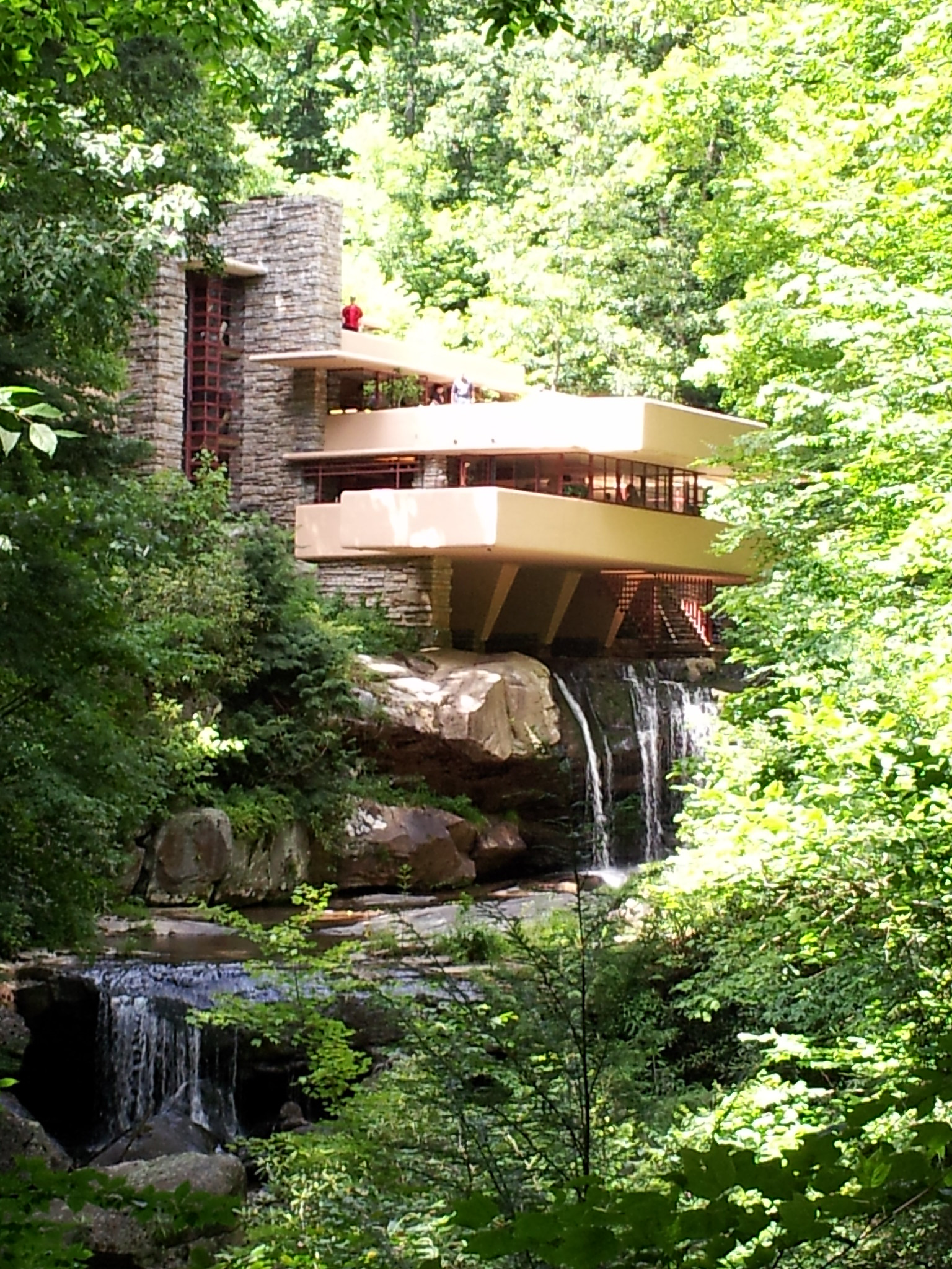 Place to Visit in Pennsylvania-Fallingwater