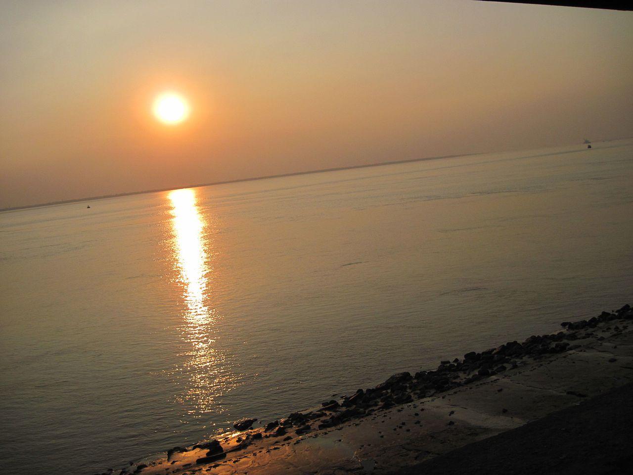 Famous Beach in West Bengal-Falta Beach