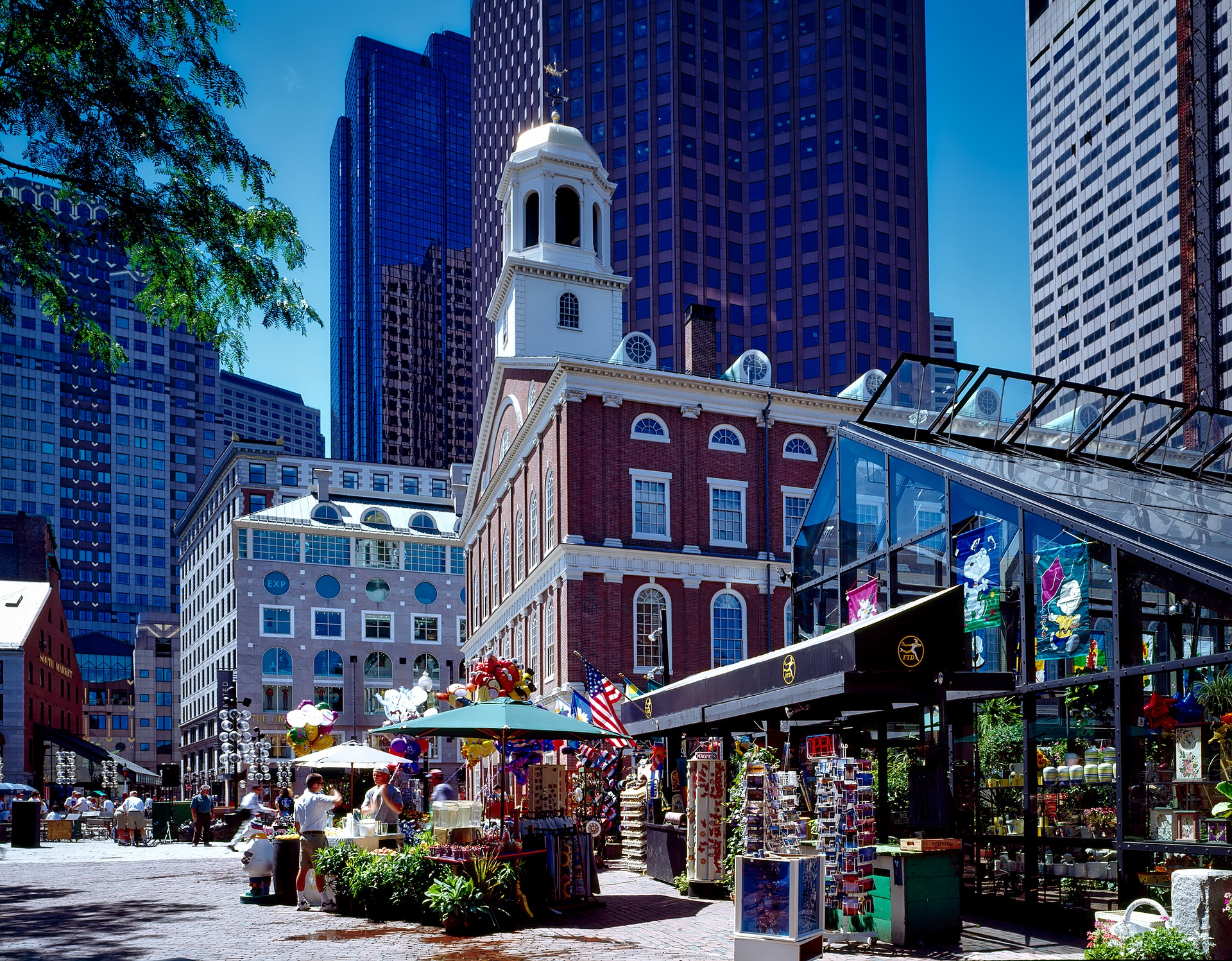 Must-Visit Attraction of Massachusetts-Faneuil Hall