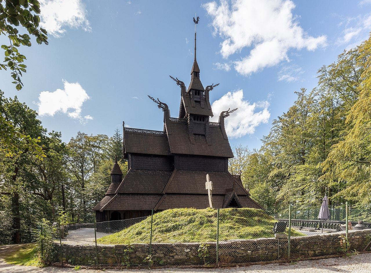 Fantoft Stave Church - Must Visit Place In Stavanger Region, Norway