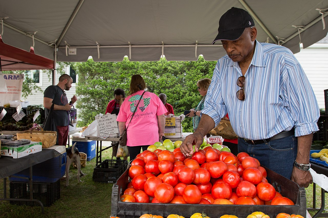 Magnetic Attraction of in Charleston-Farmers Market of Charleston