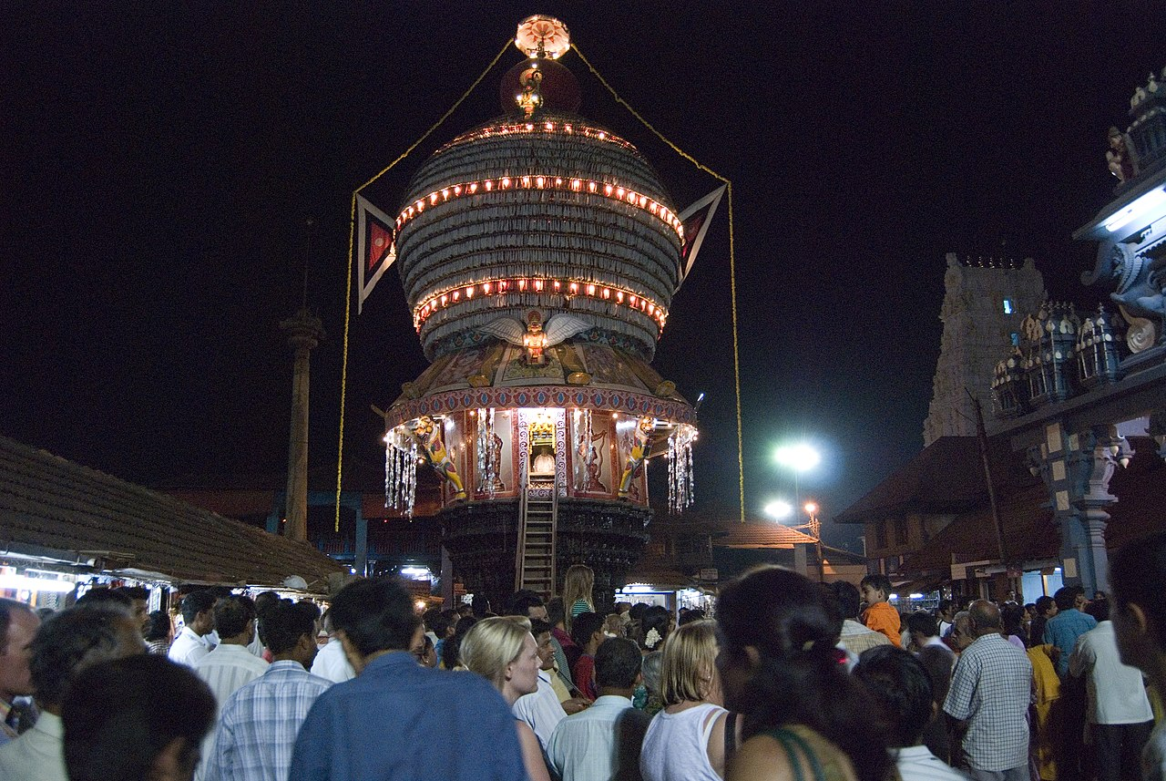 Festivals of Krishna Temple In Udupi, Karnataka
