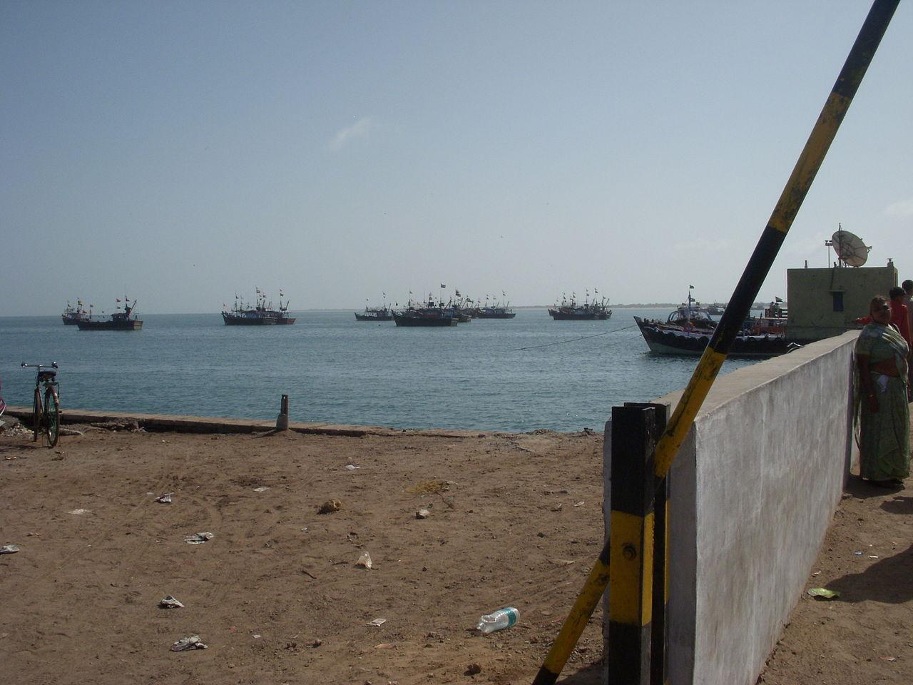Bet Dwarka Beach Experience-Fishing Boats On The Island