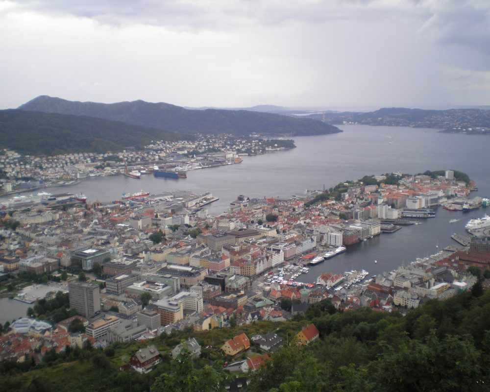 Fløibanen and Fløyen The Top of The Mountain - Place To Visit In Bergen