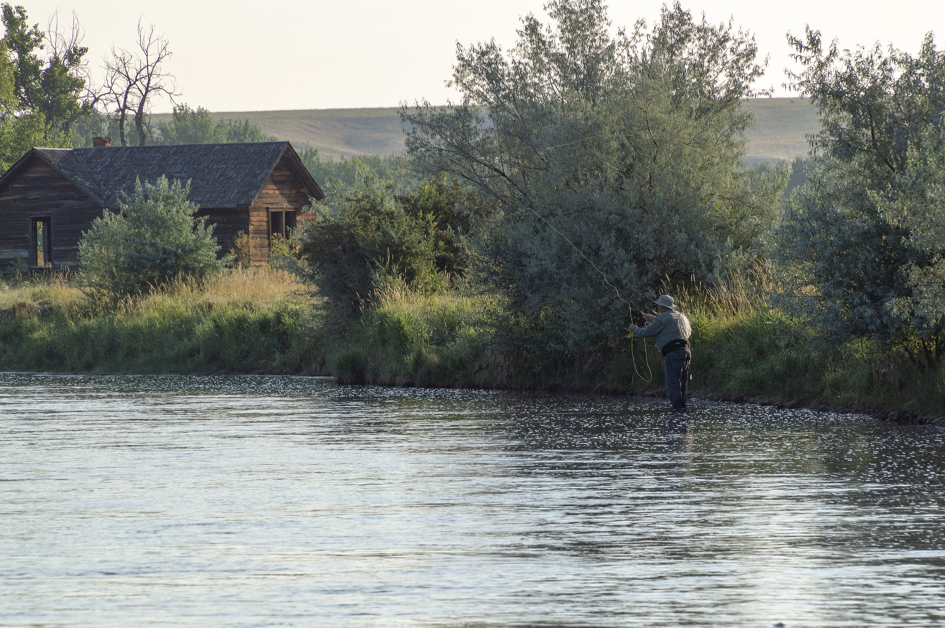 Best Place in Montana-Fly fishing