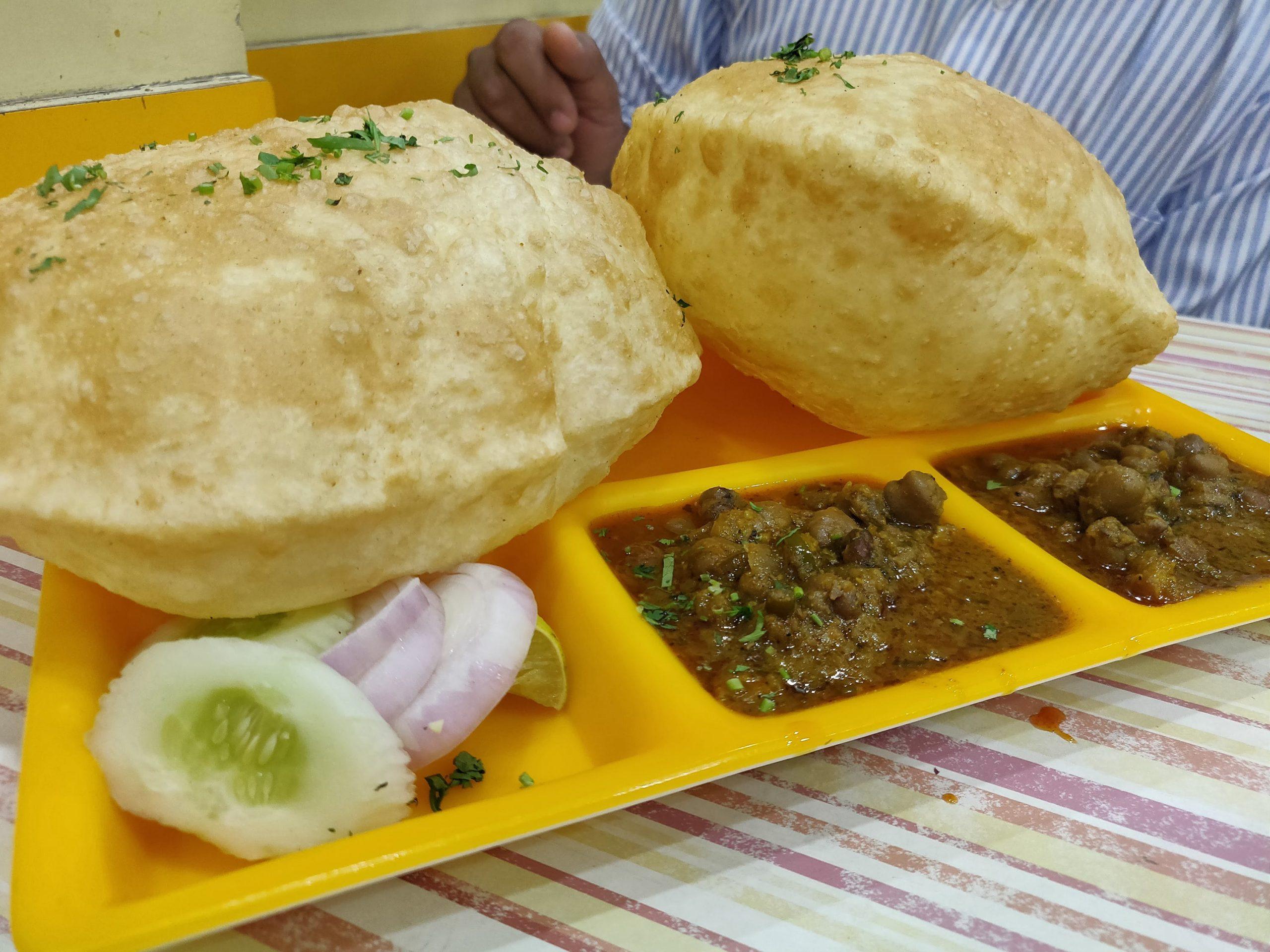 Food Truck Park Tasty Chhole Bhature Street Food in Ahmedabad, Gujarat