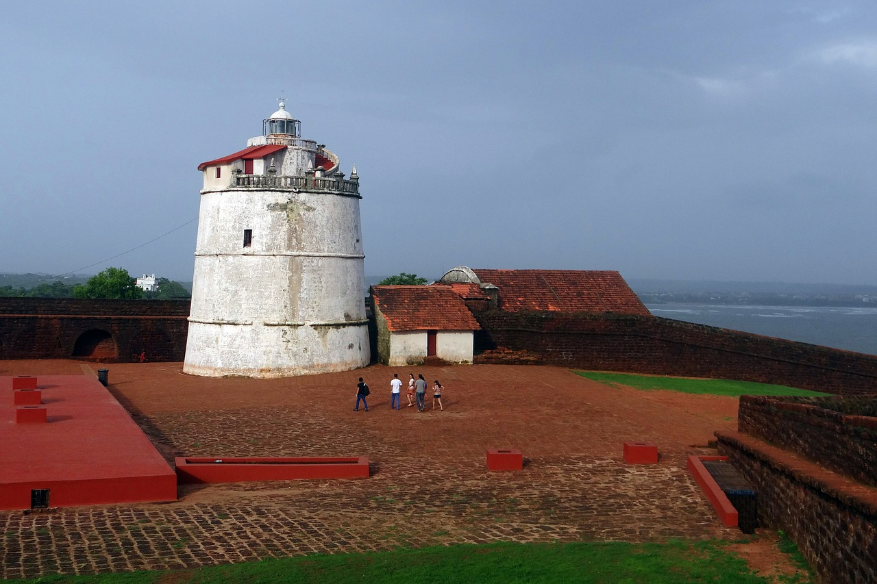 Best Fort to Visit in North Goa-Fort Aguada
