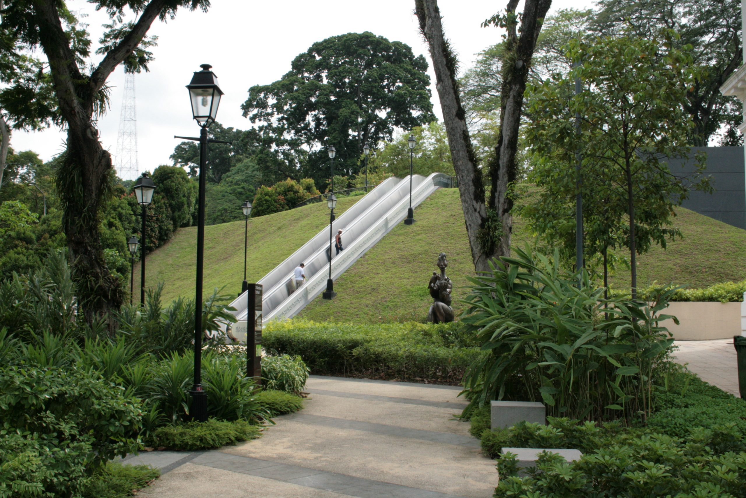 Top Natural Hill Point in Singapore-Fort Canning Hill