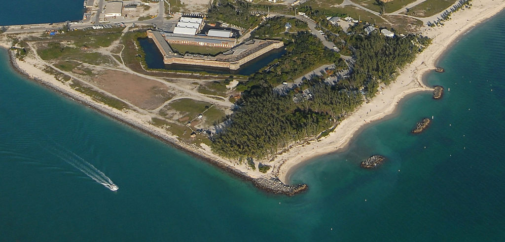 Best Destination in the Florida Keys-Fort Zachary Taylor Historic State Park