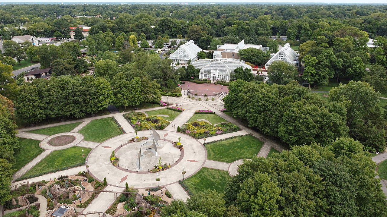 Top Place To Visit In Columbus, Ohio-Franklin Park Conservatory and Botanical Gardens