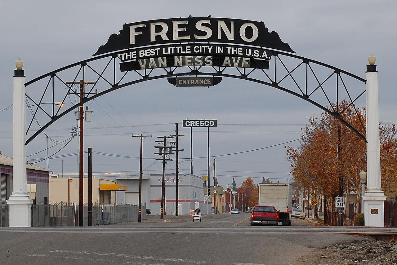Top Vacation City in California-Fresno
