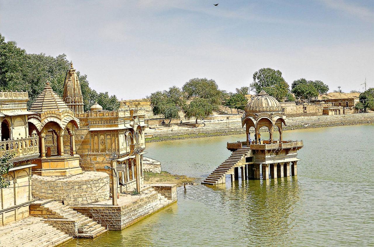 Popular Tourist Place to Visit in Jaisalmer, Rajasthan-Gadisar Lake