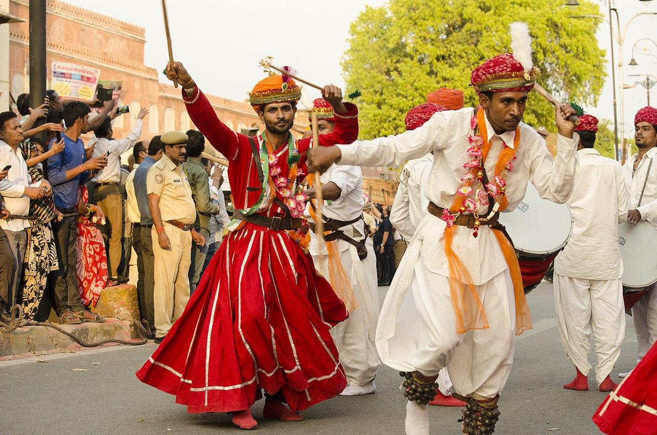 Amazing Folk Dance Of Rajasthan-Gair Folk Dance