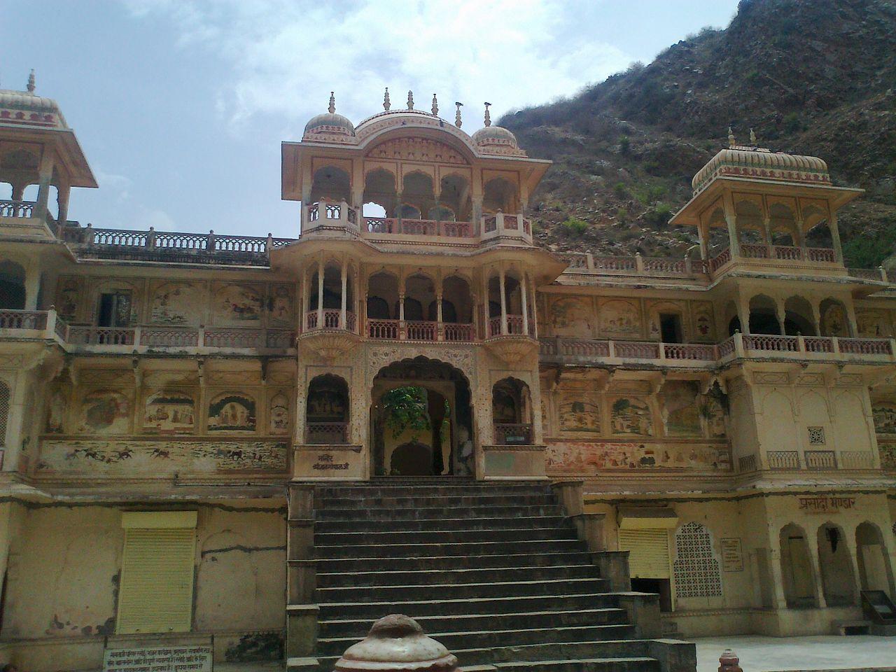 Amazing Destination to Visit in Jaipur-Galtaji Temple