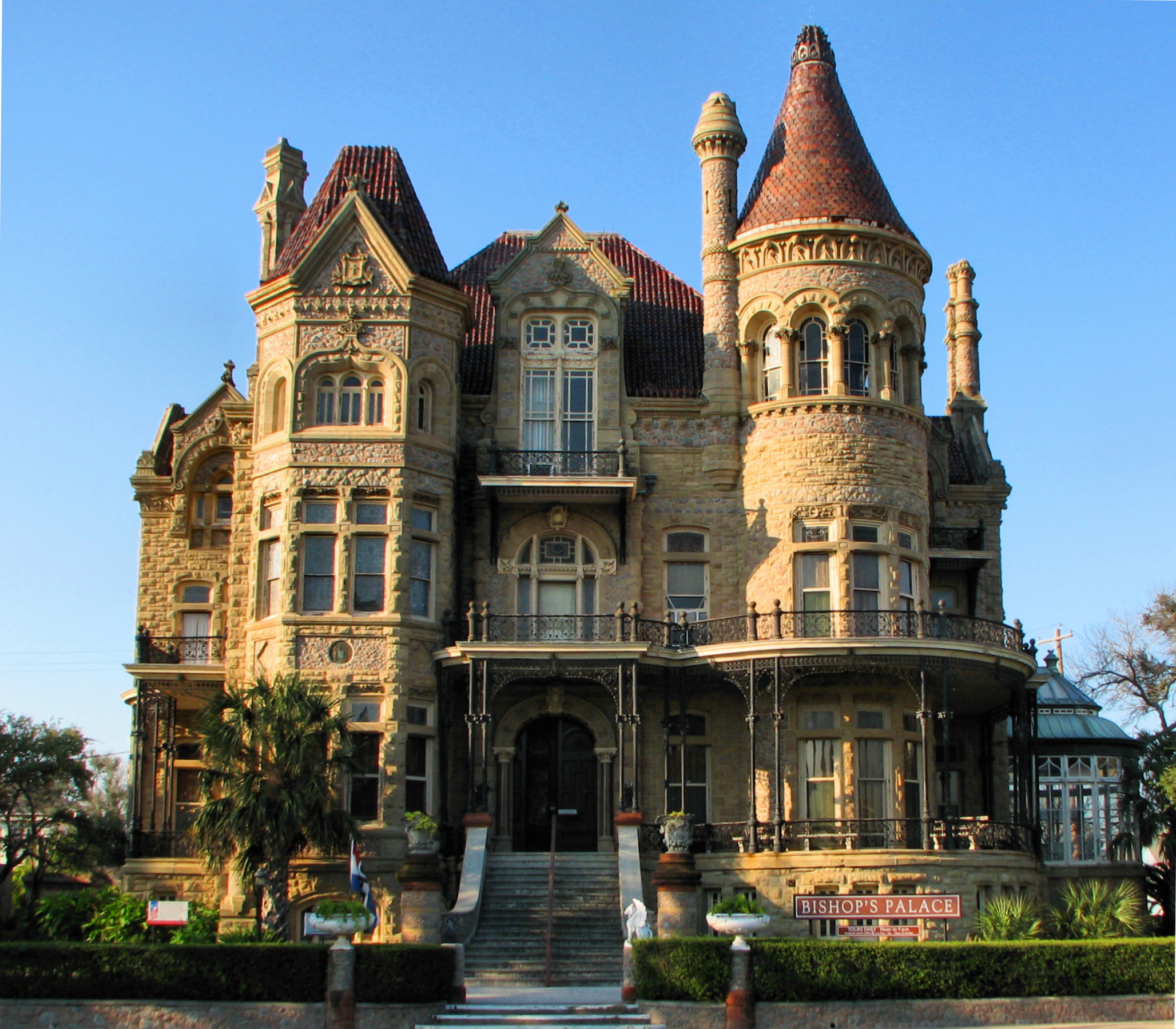 Amazing Place to Vacation in Texas-Galveston, 1892 Bishop's Palace