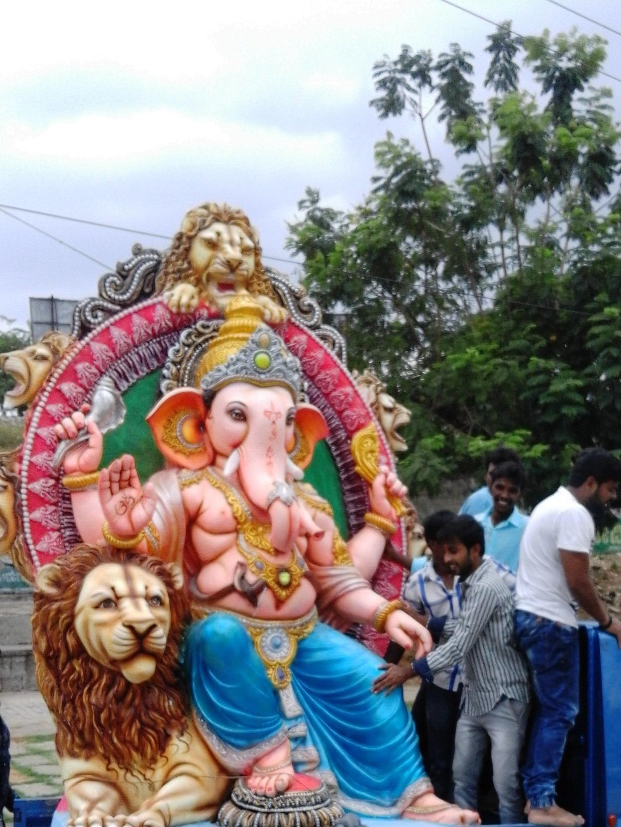 Popular Festival of Karnataka-Ganesha Chaturthi