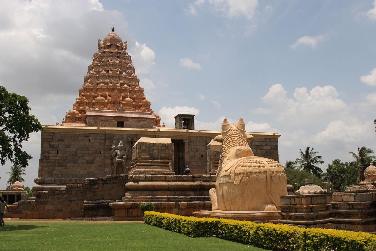 Gangaikonda Cholapuram in Ariyalur, Tamil Nadu