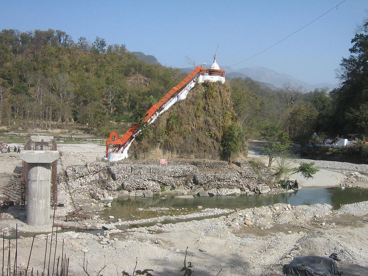 Place to See in Jim Corbett-Garjiya Temple