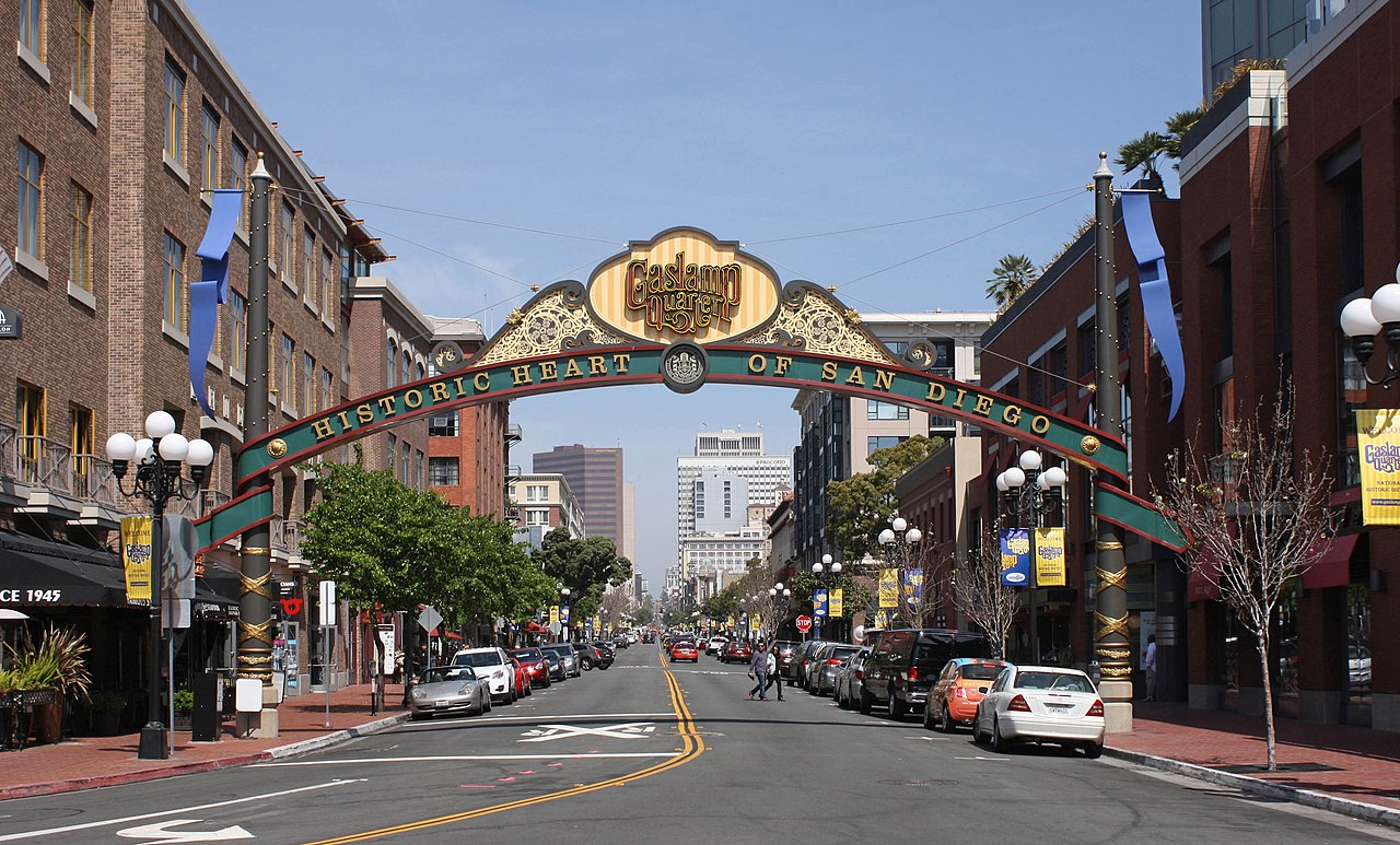 Gaslamp Quarter - Awesome Place to Visit in San Diego