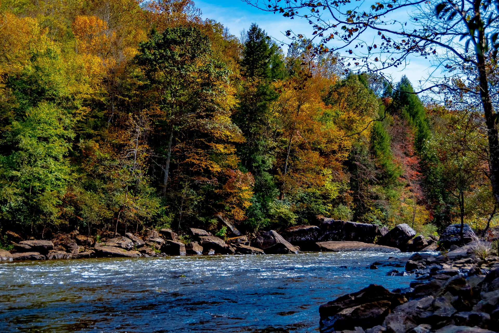 Amazing Destination to Visit In West Virginia-Gauley River National Recreation Area