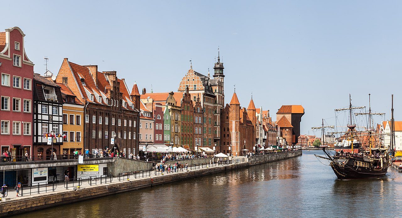 Best Places In Northern Poland-Gdansk, Ulica Mariacka (St Mary's Street)