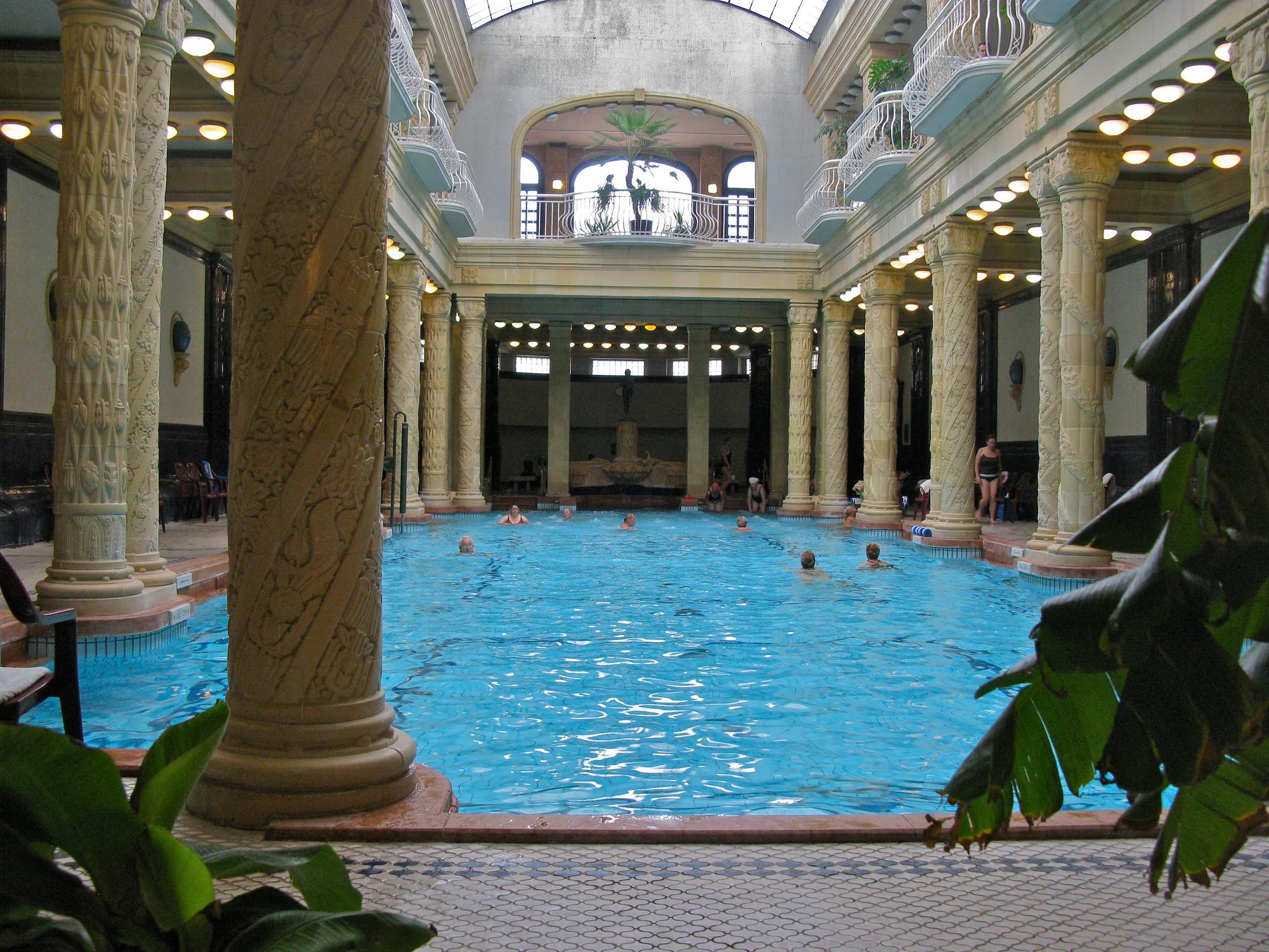 Gellért Baths - Amazing Sight-Seeing Destinations in Budapest (Hungary)