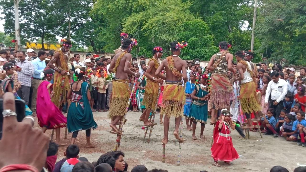 Amazing Folk Dance of Chhattisgarh-Gendi Dance