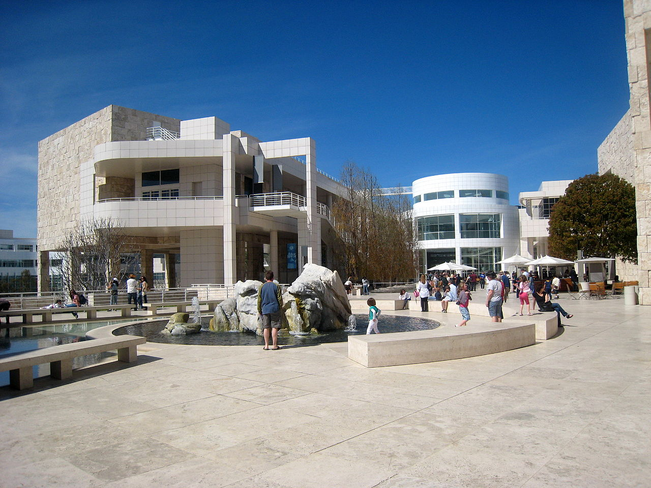 Nice Place to Visit In Los Angeles-Getty Center
