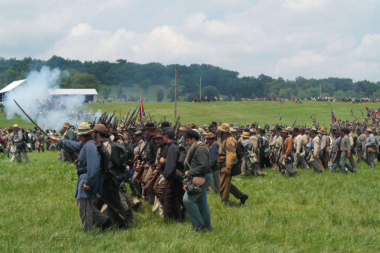 Top Place to Visit In Gettysburg in Pennsylvania-Gettysburg Civil War Re-enactments