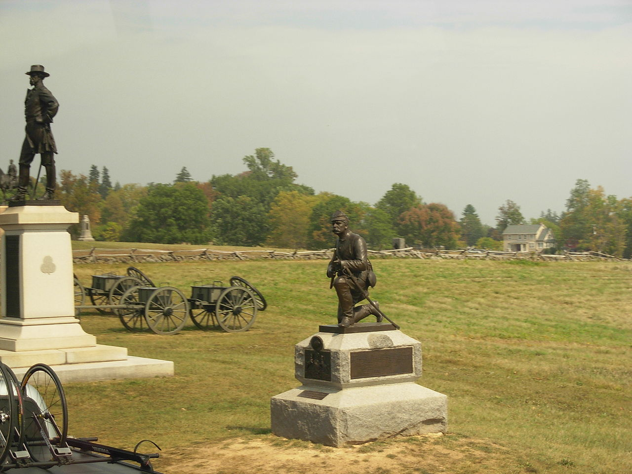 Amazing Attraction in Pennsylvania-Gettysburg National Military Park