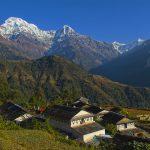 View of Annapurna Massif in Ghandruk - A Hidden Gem in Nepal
