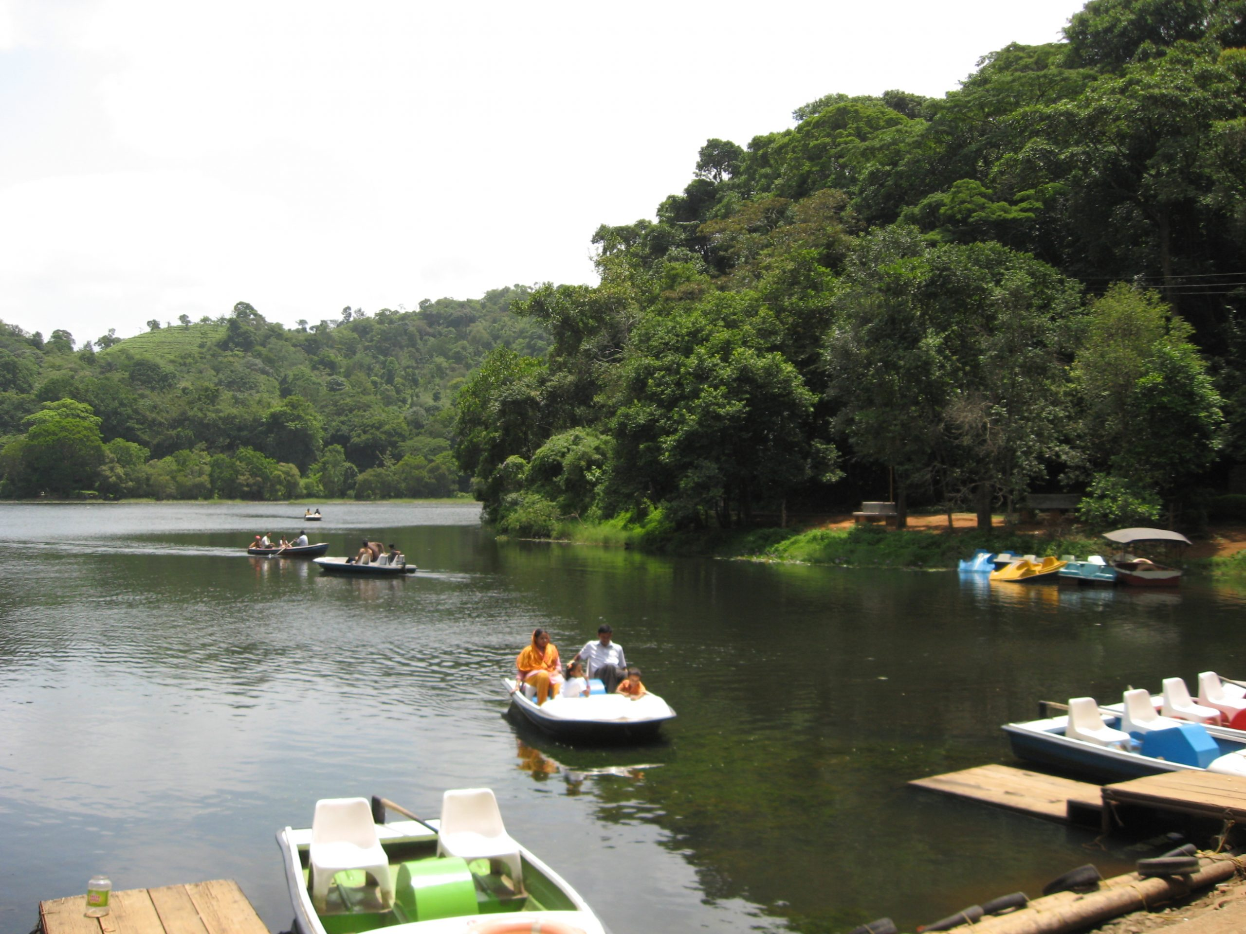 Go for Boating on the Pookode Lake - Things Which One Must Not Miss in Wayanad