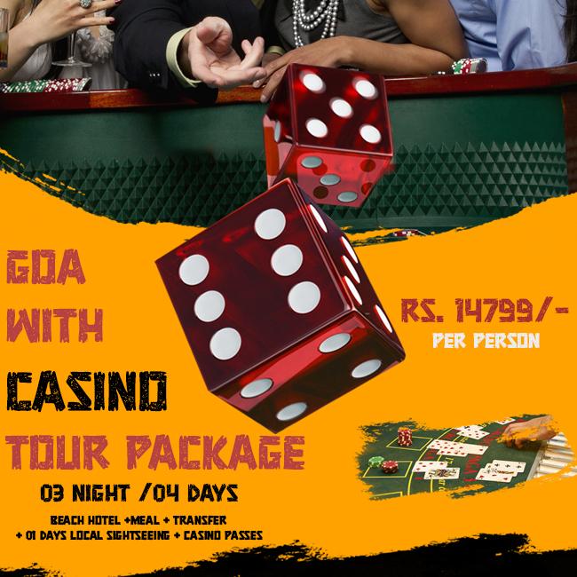 Goa Casino Tour Package