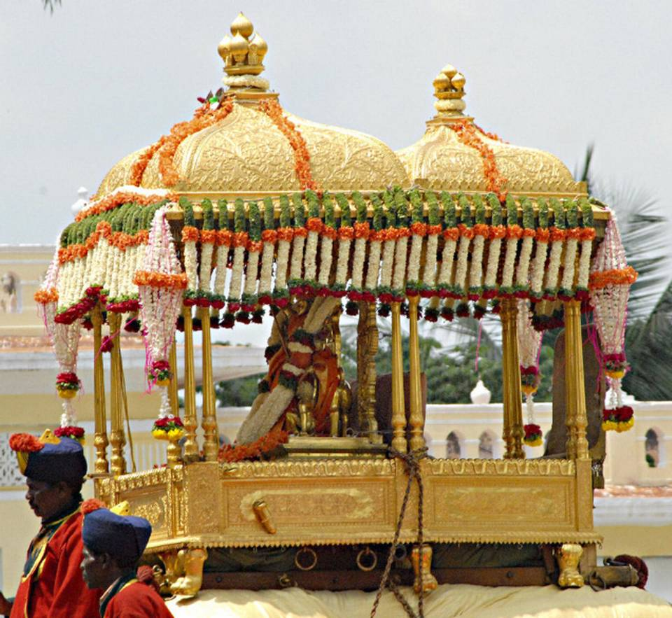 Golden Howdah Places To Visit Inside The Mysore Palace