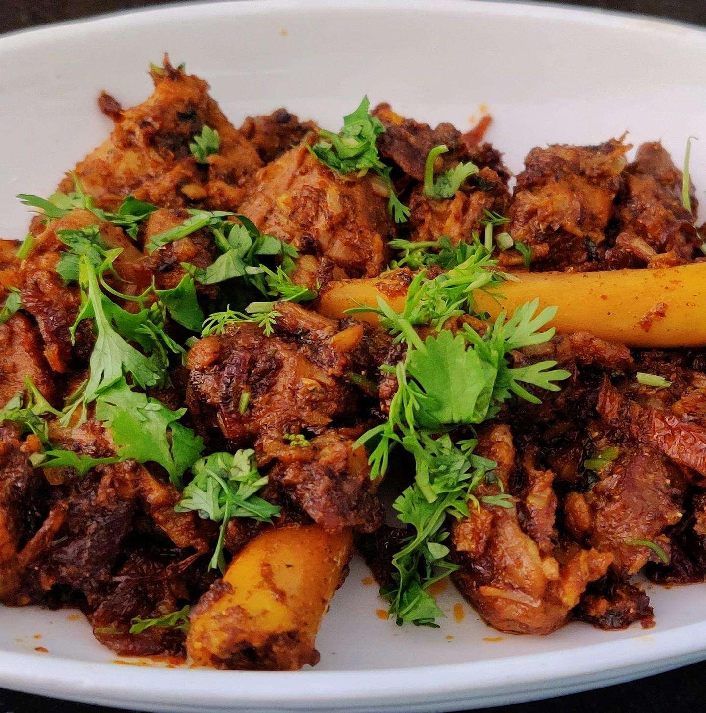 Top Dish in Telangana-Golichina Mamsam