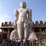 Visit Gomateshwara Statue (Bahubali Statue) at Shravanabelagola