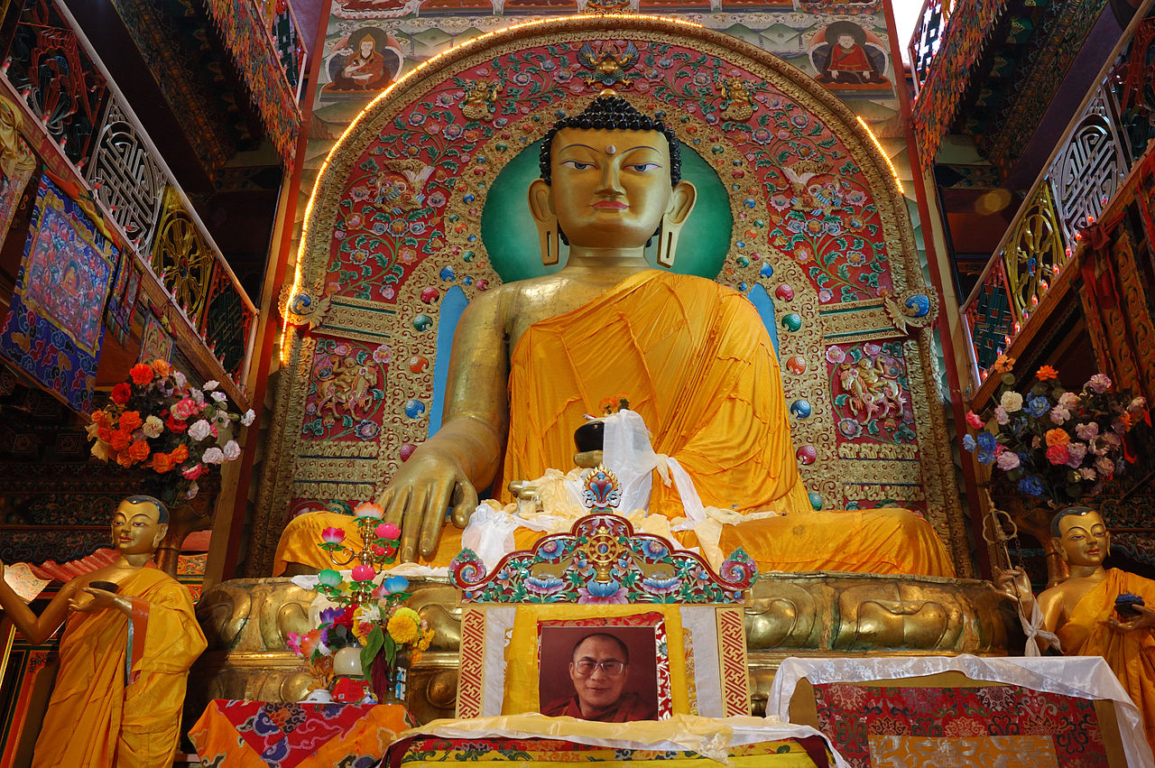 Amazing Place To See In Itanagar in Arunachal Pradesh-Gompa Buddhist Temple