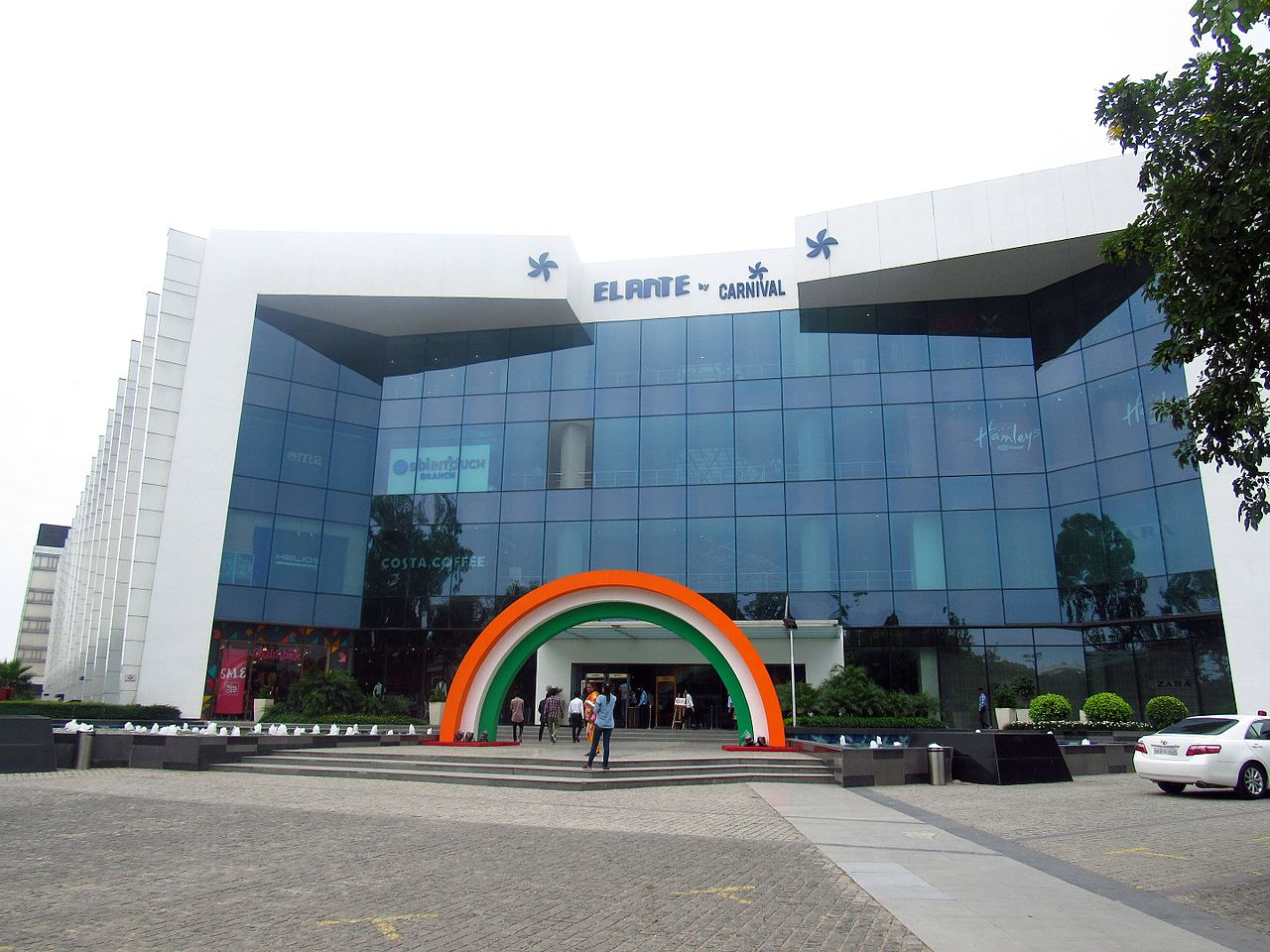 Visiting The Grand Elante Mall-Things To Do In Chandigarh